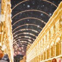 Новогодняя Москва :: Анастасия Жигалёва