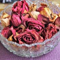 Воспоминание о розовом. :: венера чуйкова
