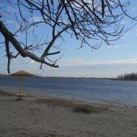 Зимой на пляже  пусто :: Галина