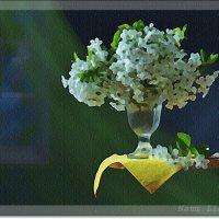 Натюрморт с сиренью :: Лидия (naum.lidiya)