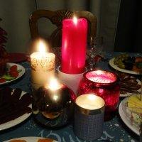 Новогодние свечи :: татьяна