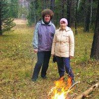 лесной костёр :: леонид логинов
