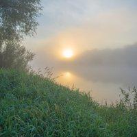 Клязьмы восход акварельный. :: Igor Andreev