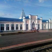 Вокзал г Кузнецка. :: венера чуйкова