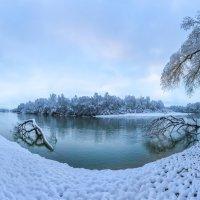 Снегопад на Тереке :: Фёдор. Лашков