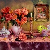 Вдыхая розы аромат... :: Валентина Колова