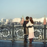 Двое на мосту :: Ирина Абрамова