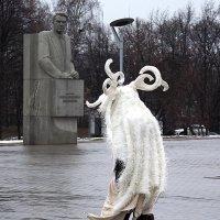 неужели пришелец или таких не берут в космонавты :: Олег Лукьянов