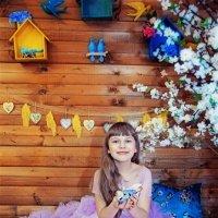Детская фотосессия в студии :: марина алексеева