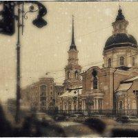 My magic Petersburg_02863 ул. Белинского, с видом на Симеоновскую церковь :: Станислав Лебединский