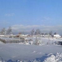Зимняя деревня :: Марина Птичка