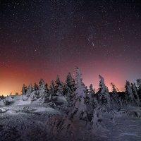 Звёздная ночь на Дальнем Таганае :: Владимир Кочкин