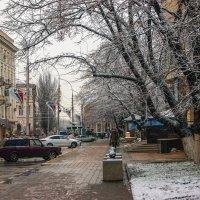 В городе мокрый снег :: Игорь Сикорский
