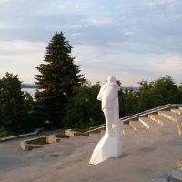 """Скульптура""""Влюбленные"""" или """"Белый танец"""" :: марина ковшова"""