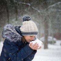 Радость первому снегу :: Андрей Медовщиков