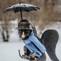 Петербургский ангел в Измайловском саду :: Наталья Левина