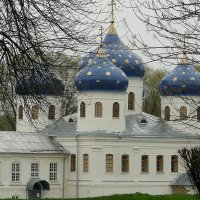 Крестовоздвиженский собор Свято-Юрьева мужского монастырья :: Елена Павлова (Смолова)