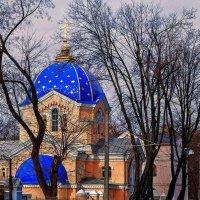 Одесский храм святых мучеников Адриана и Натальи :: Александр Корчемный