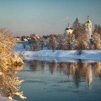 Зимняя деревня... :: Roman Lunin