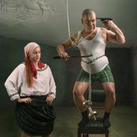Семейный трагифарс :: Александр Сергеев