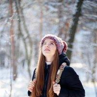 Зимний парк :: Светлана Корнеева