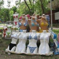 Иногда женщины теряют головы примеряя модные купальники... :: Алекс Аро Аро
