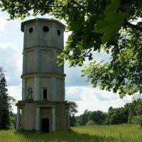 Водонапорная башня 1888 г.п в Приоратском парке :: Елена Павлова (Смолова)