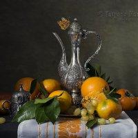 С турецкой кофейной чашкой №1 :: Татьяна Карачкова
