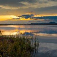 Закат на озере Большое :: Сергей Бутко