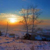 Закат в долине Иркута :: Анатолий Иргл