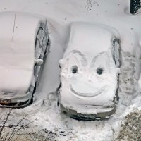 """Улыбчивый авто""""подснежник""""! :: Виталий Селиванов"""