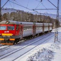 Электропоезд ЭР9Т-736 :: Алексей Белик