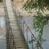 мост висячий :: людмила голубцова