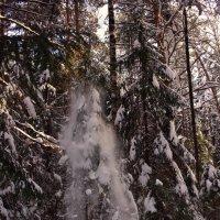 Снежный душ :: алексей