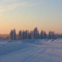 Поворот ведёт в закат... :: Ирина Яромина