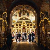 Храм Рождества Христова в Митино :: Алена Шпинатова