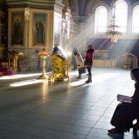 Утро в Покровском соборе :: Алина Меркурьева