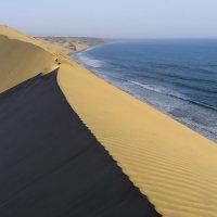 самая высокая дюна в Намибии: 300 м в океан :: Георгий А