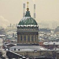 В зимней дымке... :: Senior Веселков Петр