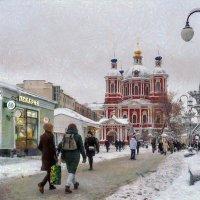 Так нежданно поменялся фон жизнью обозначенных скитаний... :: Ирина Данилова