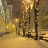 снег в городе :: Елена
