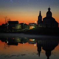 Вечернее небо над Суздалем :: Евгений