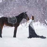Зимняя прогулка :: Ирина Голубятникова