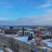 Вид со смотровой площадке Кафедрального Собора Феодора Ушакова на Саранск. 3. :: Андрей Ванин