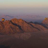 на воздушном шаре над пустыней Намиб :: Георгий