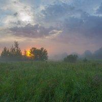 В магический момент восхода. :: Igor Andreev