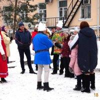 Широкая МАСЛЕНИЦА  - гуляй, народ! :: Galina194701