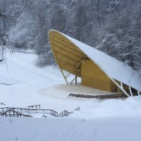 сцена в снегу :: Александр Матюхин