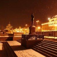 зимний вечер с Крузенштерном :: Елена
