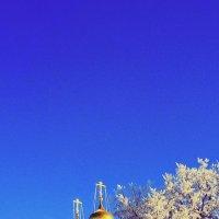 Серебро инея и золото куполов :: Леонид Абросимов